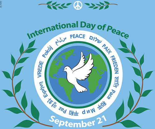 international peace day flytes